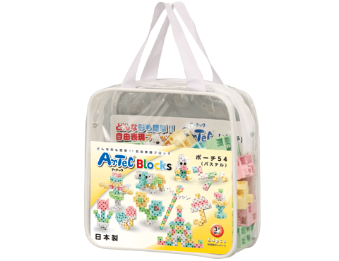 粉彩造型小袋-54片